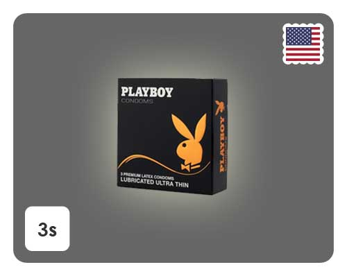Playboy Ultra Thin 3s - Happy Mail Singapore
