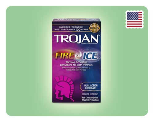 Trojan Fire & Ice 10s - Happy Mail Singapore