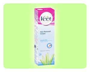 Veet Hair Removal Cream - Sensitive Skin - 100ml - Happy Mail Singapore