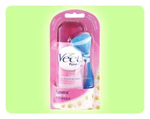 Veet Rasera Gel Cream - Normal Skin - 150ml - Happy Mail Singapore