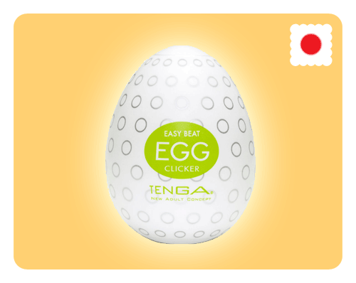 Tenga Egg - Clicker - Happy Mail Singapore