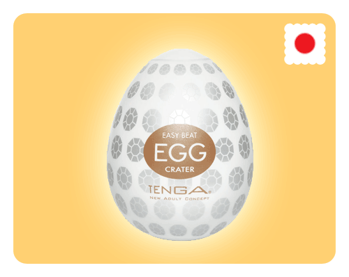 Tenga Egg - Crater - Happy Mail Singapore