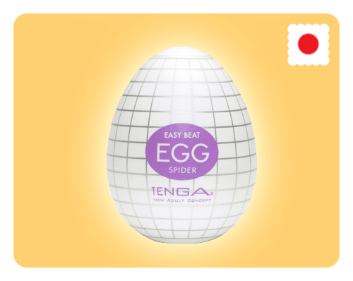 Tenga Egg - Spider - Happy Mail Singapore