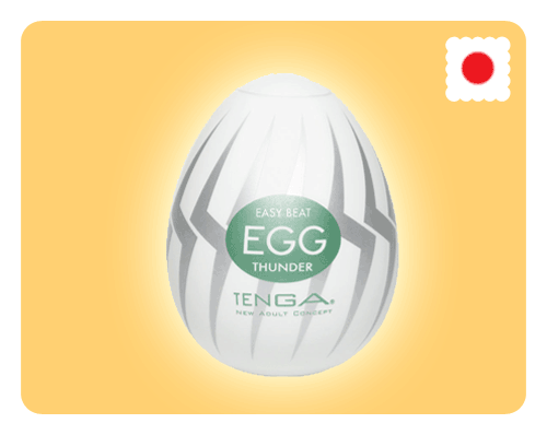 Tenga Egg - Thunder - Happy Mail Singapore