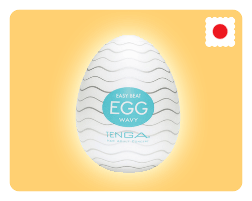 Tenga Egg - Wavy - Happy Mail Singapore