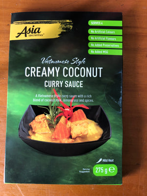 Load image into Gallery viewer, Asia Specialties Vietnamese Style Creamy Coconut Curry Sauce