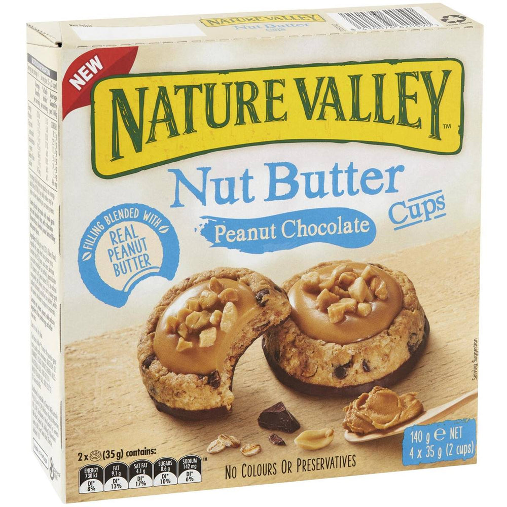 Nature Valley Nut Butter Peanut Choc Bars