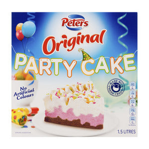 Peters Original Party Ice Cream Cake (Frozen) 1.5L