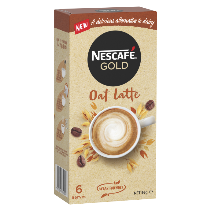Nescafe Gold Dairy Alternative Oat Latte (6) Sachets 96g