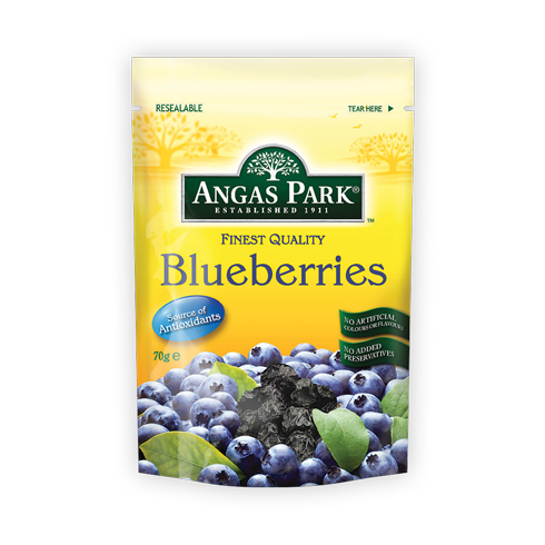 Angas Park Finest Quality Blueberries 70g
