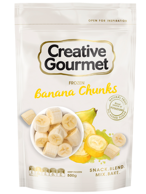 Load image into Gallery viewer, Creative Gourmet Banana Chunks (Frozen) 2.2kg