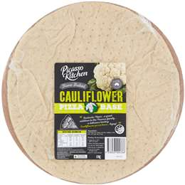 Classic Crust Vegan Cauliflower Pizza Bases (Frozen 4 Pack)