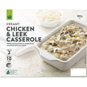 Chicken & Leek Casserole (Chilled) 800g