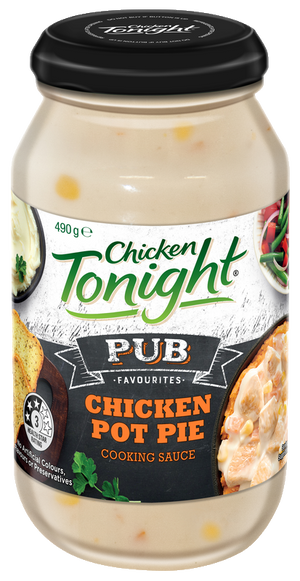 Chicken Tonight (Pub Favor Chicken Pot Pie) Cooking Sauce 490g