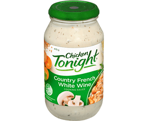 Chicken Tonight (Country French White Wine) Cooking Sauce 475g