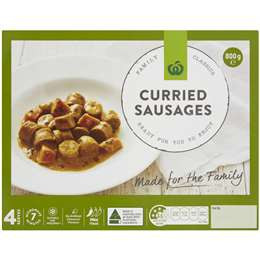 Curried Sausages (Chilled) 800g