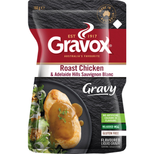 Load image into Gallery viewer, Gravox Roast Chicken and Adelaide Hills Sauvignon Blanc Gravy 160g