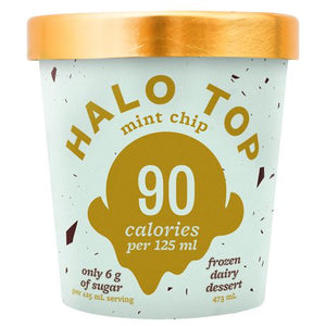 Load image into Gallery viewer, Halo Top Mint Chip Ice Cream (Frozen) 473ml