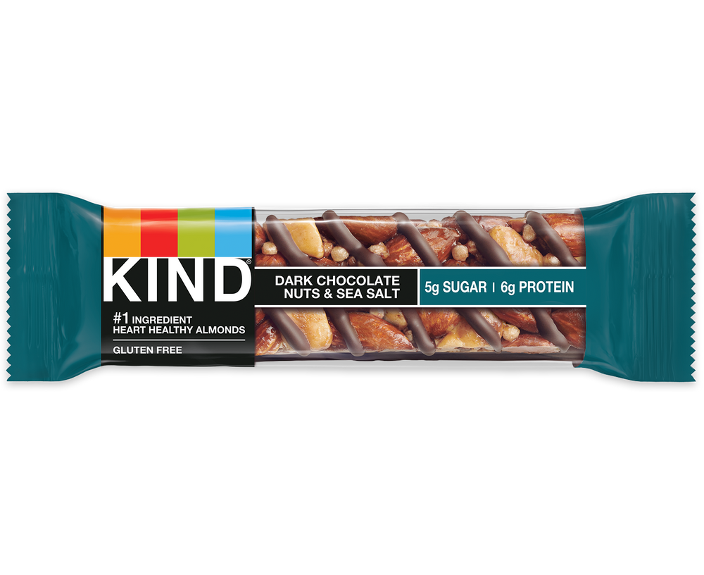 Kind Dark Chocolate Nuts & Sea Salt 40g