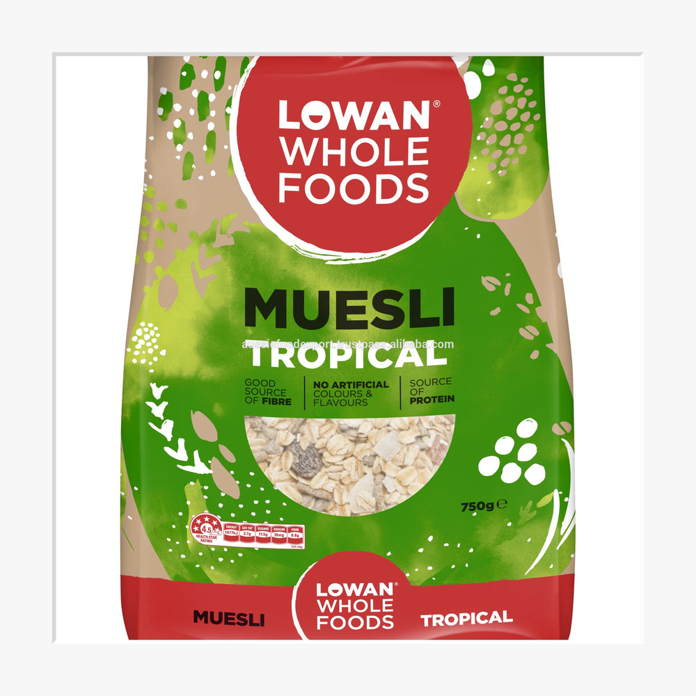 Load image into Gallery viewer, Lowan Tropical Muesli 750g