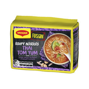 Maggi Fusian Thai Tom Yum Noodles 5 pack 400g
