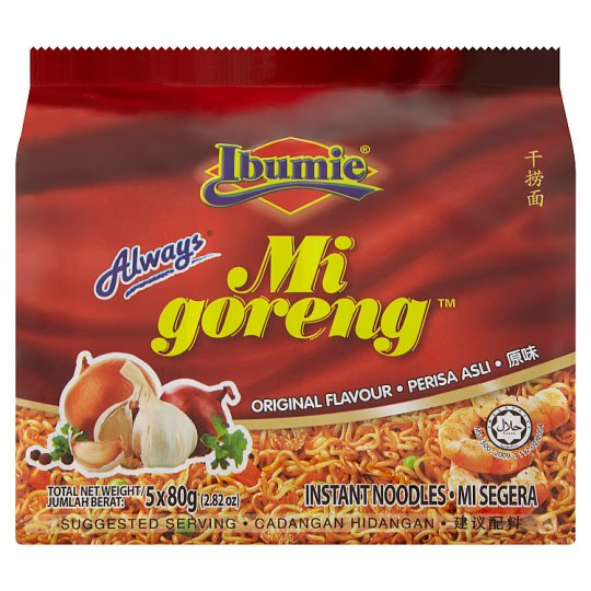 Load image into Gallery viewer, Mi Goreng Ibumie Noodles 80g (5 pack)