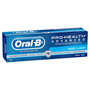 Oral B Pro-Health Advanced Deep Clean for Healthy Gums & Strong Teeth 110g