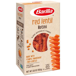 Load image into Gallery viewer, Barilla Red Lentil Rotini Gluten Free Pasta 250g