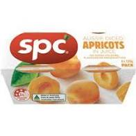 SPC Diced Apricots in Juice 120g (4 pack)