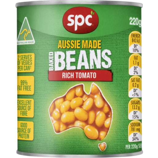 Load image into Gallery viewer, SPC Baked Beans 220g