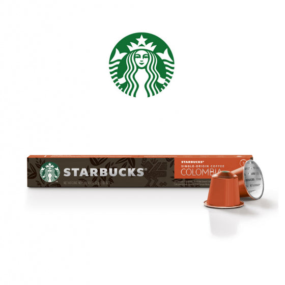 Load image into Gallery viewer, BOX (3) Starbucks Single Origin Columbia (Coffee Capsules x 10) 57g