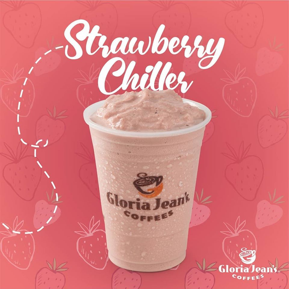 Gloria Jeans Strawberry Smoothie Base Flavouring 1L