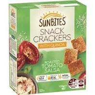Load image into Gallery viewer, Sunbites Snack Crackers with Quinoa & Roasted Tomato Salsa 110g