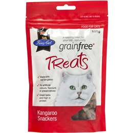 Load image into Gallery viewer, VIP Fussy Cat Grain Free Kangaroo Snackers Cat Treats 100g