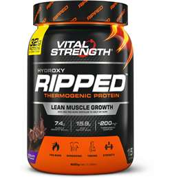 Vital Strength Ripped Protein Powder Chocolate 600g
