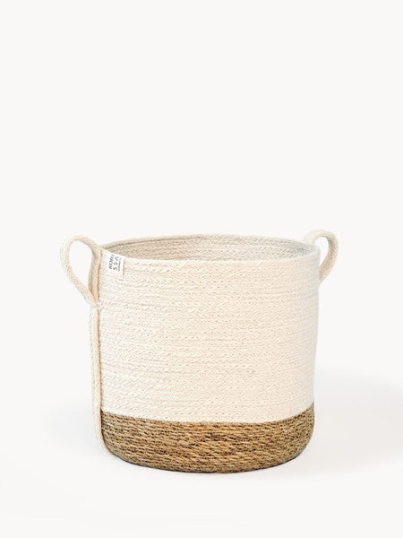 Handmade Savar Jute Basket with Side Handles