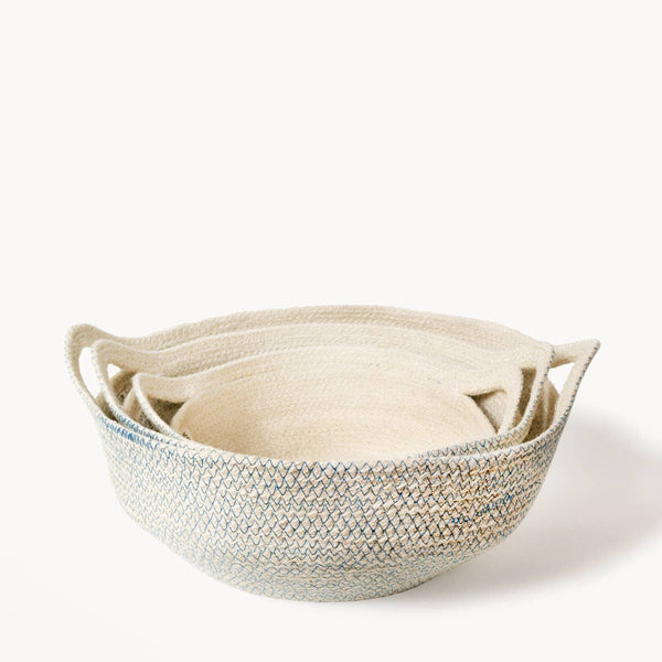 Fair Trade Sustainably Handwoven Eco-friendly Jute Baskets