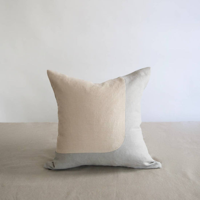 Eco-friendly Ethically Handmade Square Linen Accent Pillow