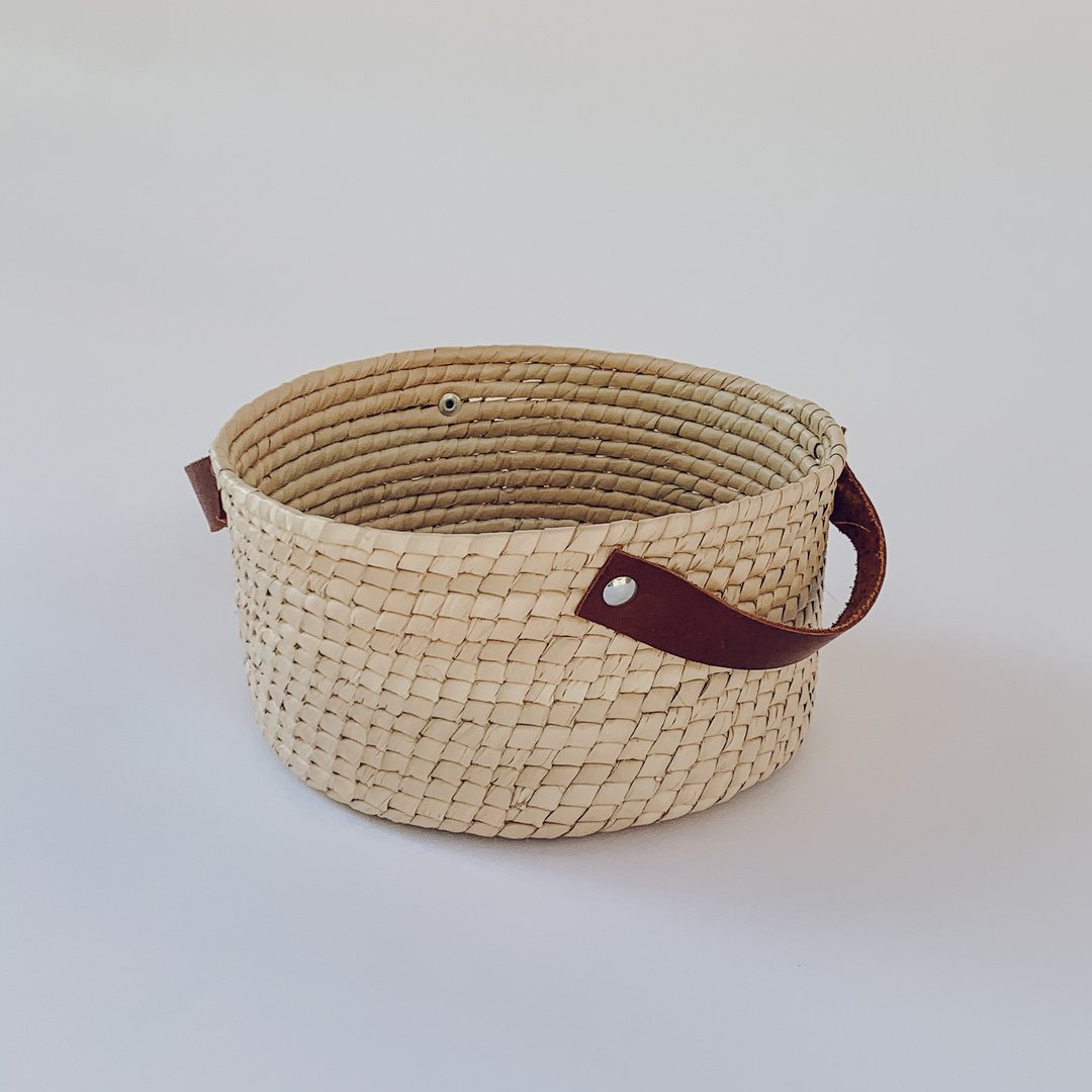 San Juan Straw Basket - Small