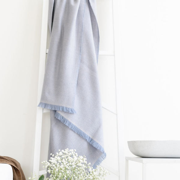 Eco-friendly Ethically Handmade Sustainable Merino Throw