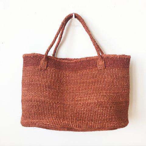 Eco-friendly Ethically Handwoven Small Batch Canyon Sisal Tote