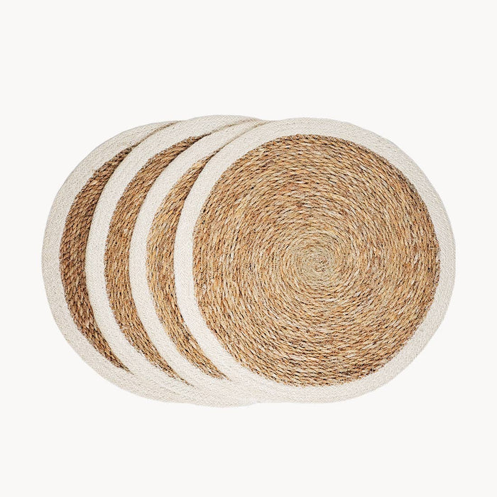 Savar Fair Trade Jute Placemats - Set of 4