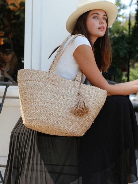 Handmade Kata Jute Shoulder Bag