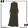 Buy Zam Zam Abaya Shirtdress with Godets