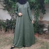 Buy zam zam Abaya – Front Open In Nida Fabric