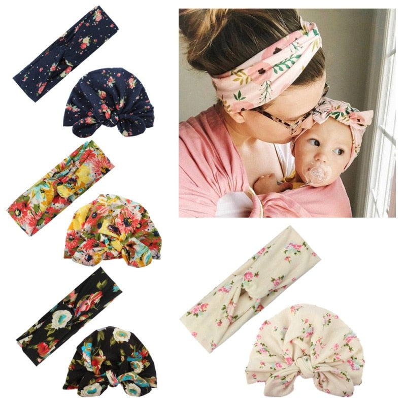 Mommy & Baby Matching Headbands - Babies Hunt