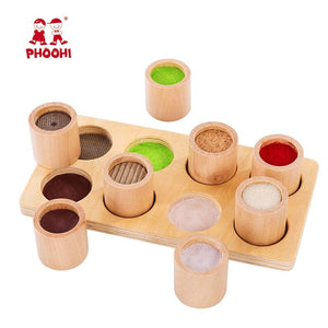 Baby Wooden Educational Color Toy - Babies Hunt