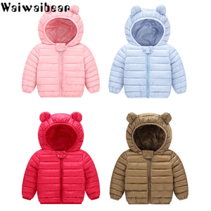 Waiwaibear Baby Winter Coats - Babies Hunt