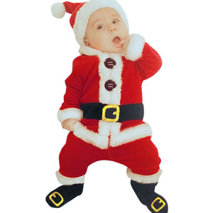 Baby Santa Christmas Winter Costumes - Babies Hunt