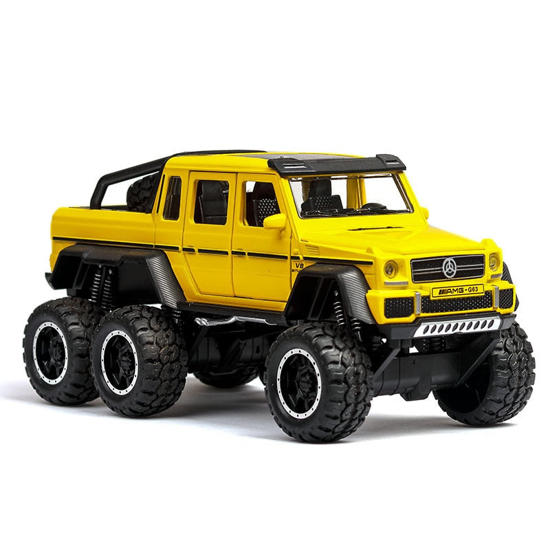 Diecast Metal Toy Car - Babies Hunt